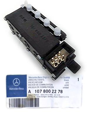 ベンツ 560SL(R107) オートエアコンバキュームバルブ(4WAY)1078002278
