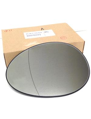 bmw mini r56 ドアミラーガラス 左 51162755625
